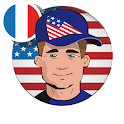 John, the American voice (Fra) icon