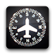 Airplane Vertical Compass GPS