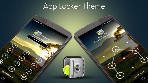 App Locker Theme Nature