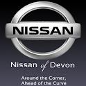 Nissan of Devon logo