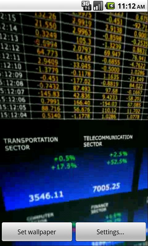 Stock Exchange - screenshot