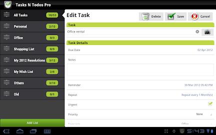 Tasks N ToDos Pro - To Do List Screenshot 16