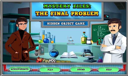 Final Problem - Hidden Objects