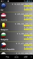 Screenshot of EU Debt Clock