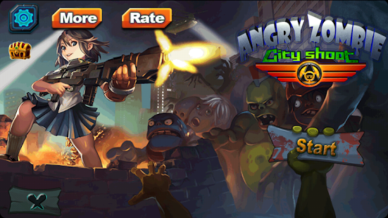 Angry Zombie: City Shoot screenshot