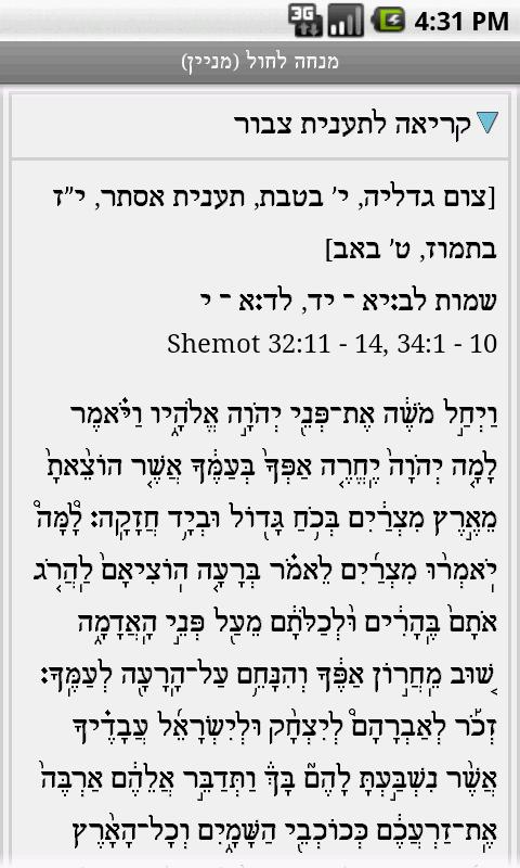 Not a Siddur (Nusach Ari)- screenshot