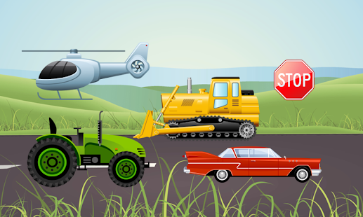 Vehicles and Trucks for Kids- screenshot thumbnail