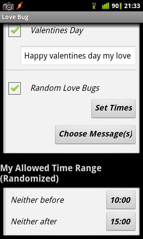 Love Bug : Messenger - screenshot