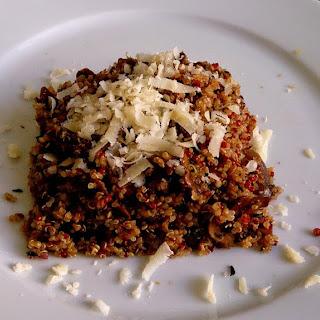 Quinoa Mushrooms Thyme