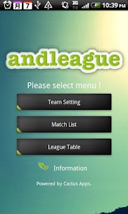 andleague- screenshot thumbnail