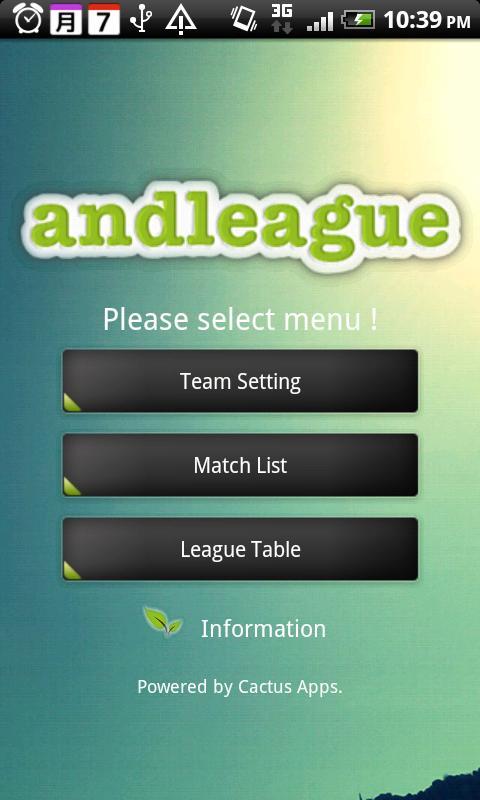 andleague- screenshot
