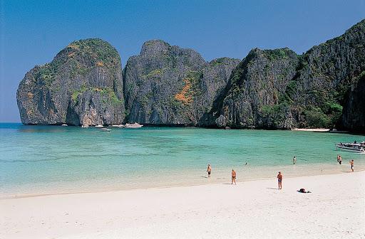 Thailand-mayabeach_krabi1 - Maya Bay in Krabi Province, Thailand.
