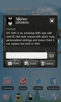 Screenshot of GO SMS Pro Theme Thief - KP