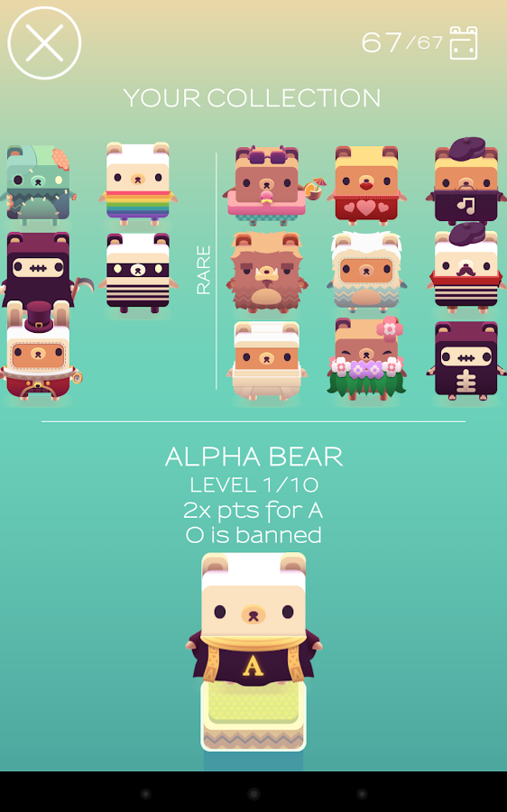 Alphabear- screenshot