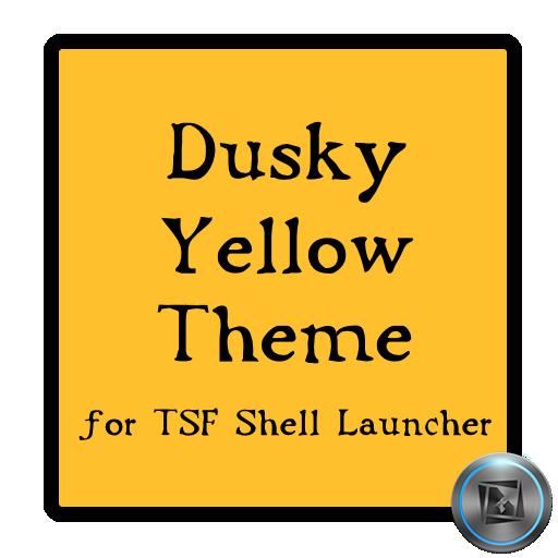 Dusky Yellow TSF Shell Theme 個人化 LOGO-阿達玩APP