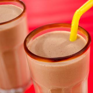 Double Chocolate-peanut Butter Milkshakes.