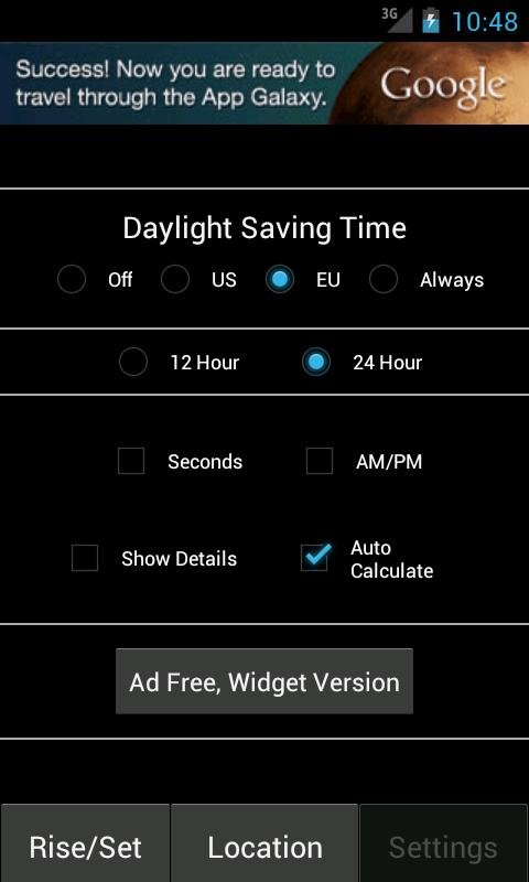 Sunrise Sunset Calculator Free- screenshot