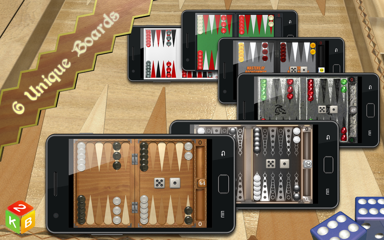 Backgammon Masters - screenshot