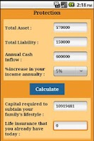 Screenshot of Human Life Value Calculator
