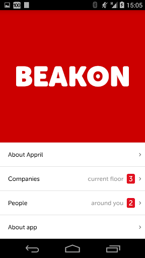Beakon relevance by proximity
