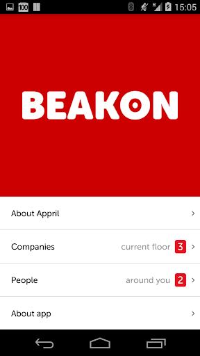 Beakon relevance by proximity