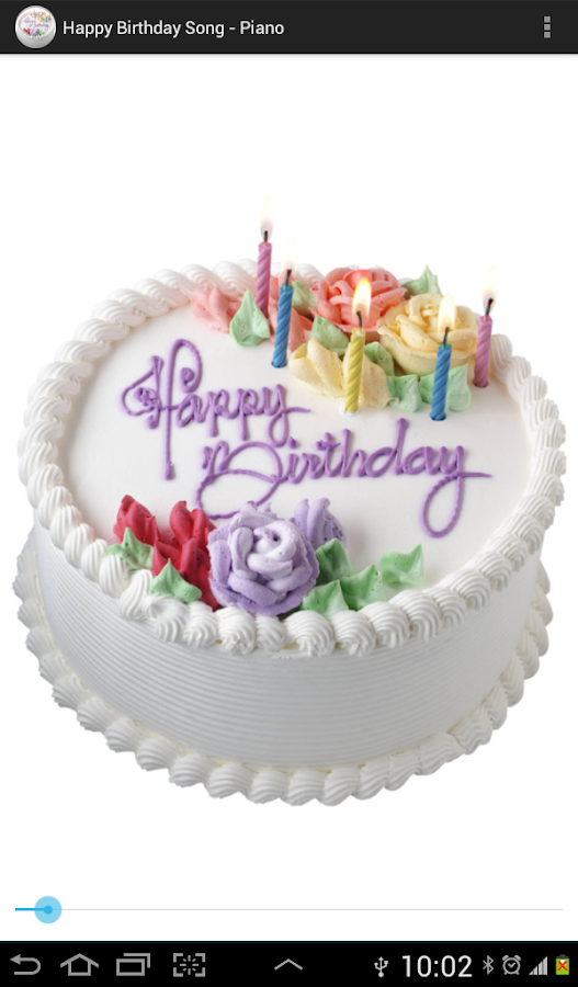Birthday Song Piano Android Apps On Google Play - Cake happy birthday song
