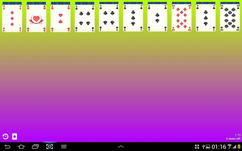 Spider Solitaire Free- screenshot thumbnail