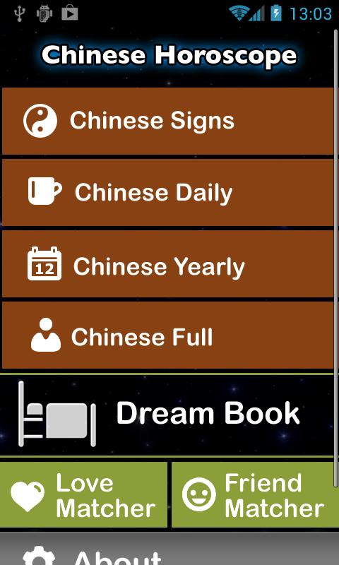 Chinese Horoscope - screenshot