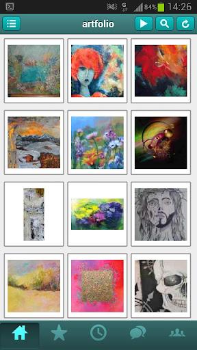 Artfolio Online Art Gallery