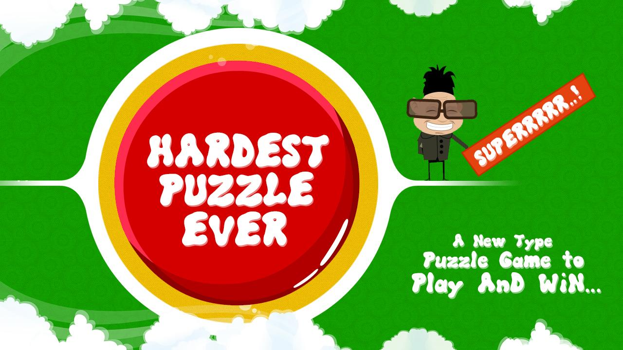 Hardest Puzzle Ever- screenshot