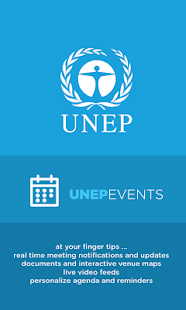 UNEP Events - screenshot thumbnail