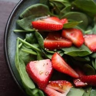 Strawberry Spinach Salad II
