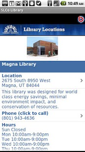 SLCo Library - screenshot thumbnail