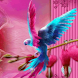 Rainbow Parrot  Live Wallpaper