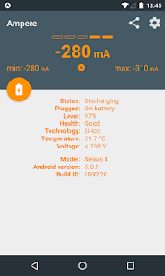 Ampere 2.11 [Pro Unlocked/Patched] Cracked Apk 4