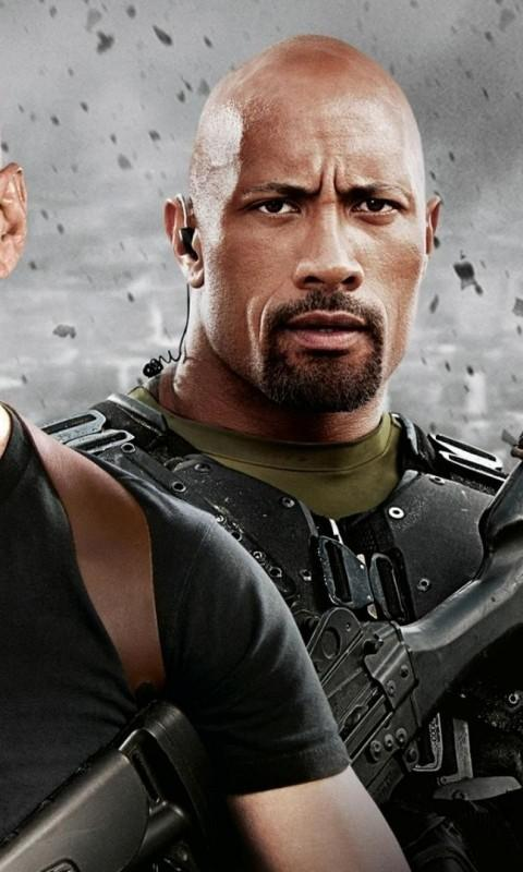 Dwayne The Rock Wallpaper - screenshot