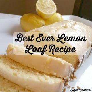 Best Ever Lemon Loaf.