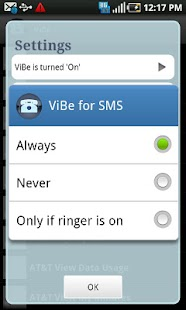 ViBe Screenshot 5