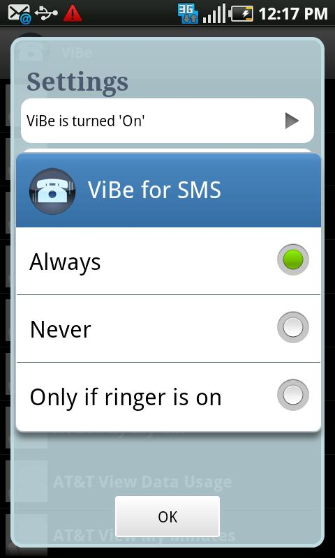 ViBe- screenshot