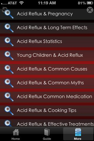 Acid Reflux Guide And Tips - screenshot