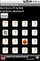Screenshot of Halloween Matching