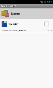Pear Bible KJV (King James) - screenshot thumbnail