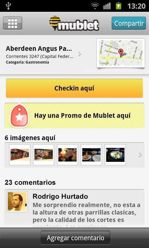 Mublet - screenshot