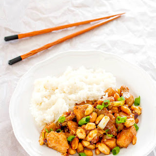 Gong Bao (Pork with Peanuts)