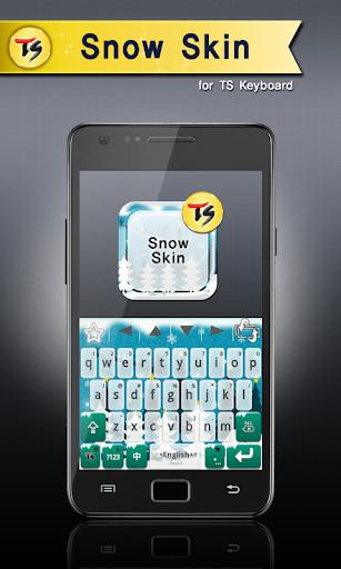 Snow Skin for TS Keyboard