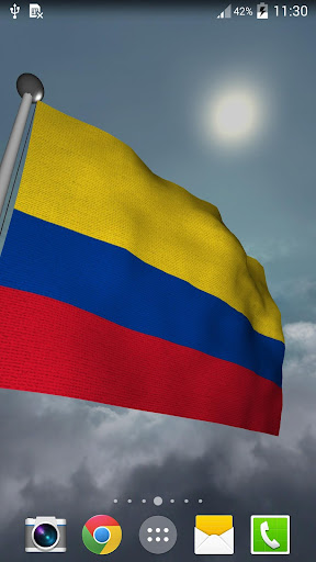 Colombia Flag - LWP