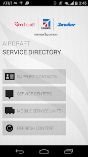 Textron Aviation Directory- screenshot thumbnail
