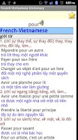 Screenshot of French Vietnamese Dictionnary