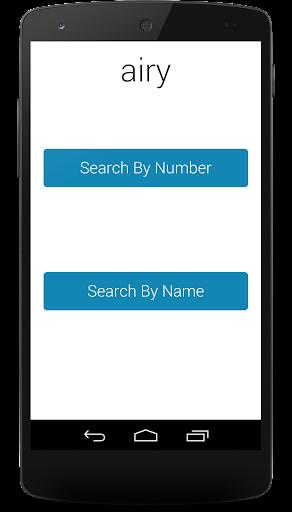 Airy - Area Code Locator