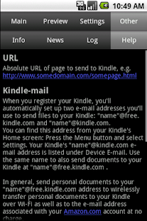 Send to Kindle- screenshot thumbnail